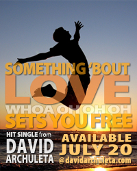 New Hit Single from David Archuleta, Available July 20 at davidarchuleta.com